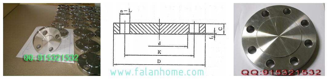 [HG20601]PN16法兰盖标准尺寸