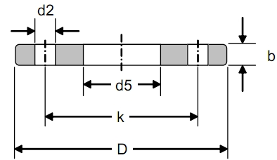 DIN2573 PN6德标法兰标准