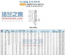 JB/ZQ4479-86焊接法兰盖标准