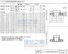 SHT501-1997 PN1.6凸面带颈平焊夹套管法兰标准