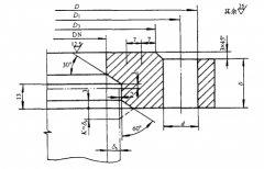 JB/T4701-2000 PN0.25甲型平焊法兰标准