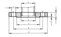 JB/T81-94 PN1.0板式平焊法兰标准尺寸