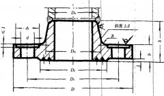 CB/T47-1999 PN4.0船用对焊法兰
