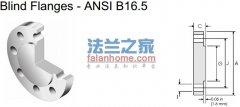 ANSI B16.5 BL 1500lb盲板法兰标准