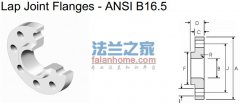 ANSI B16.5 150lb lap joint flange