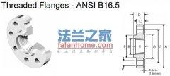 ANSI B16.5 2500lb threaded flange