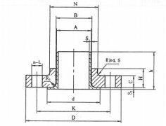 [HG20621]300lb美标对焊环松套法兰标准尺寸