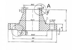 FLANGES EN 1092-1 TYPE11 PN16 (WELDING NECK)法兰标准